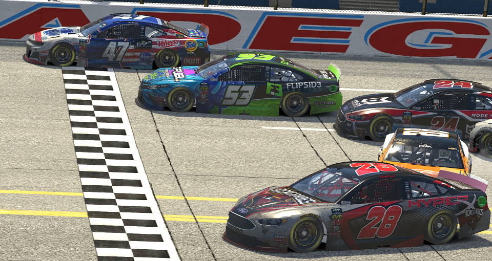 Talladega Finish 2019 Peak Series Finish Line