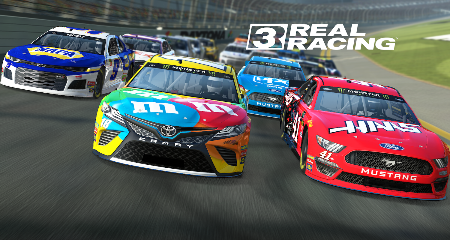 Real Racing 3 launches NASCAR update ahead of Daytona 500