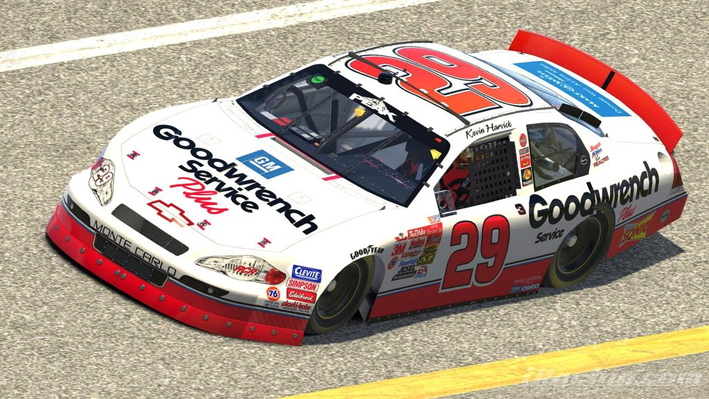 Kevin Harvick Replica Paint Iracing