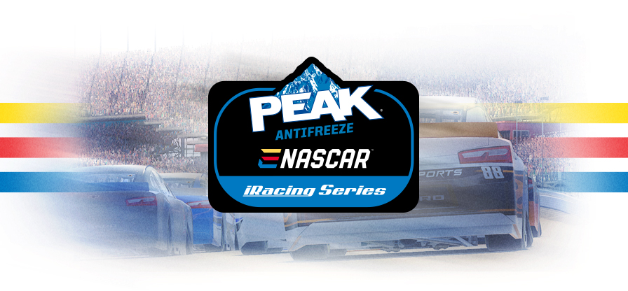 NASCAR PEAK Antifreeze iRacing Series logo