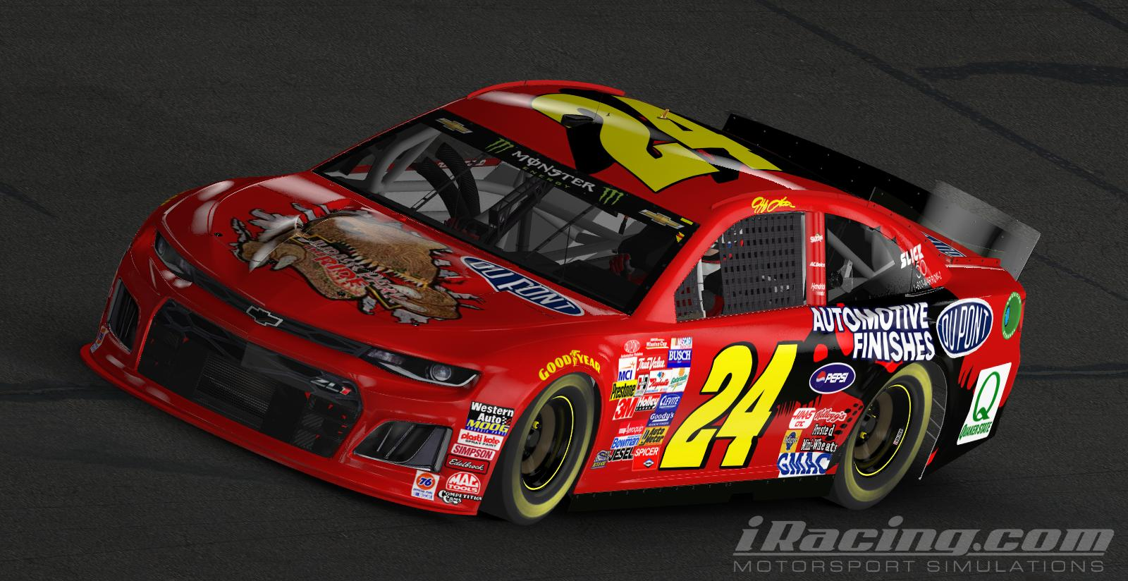 Jeff Gordon Replica Iracing 2019