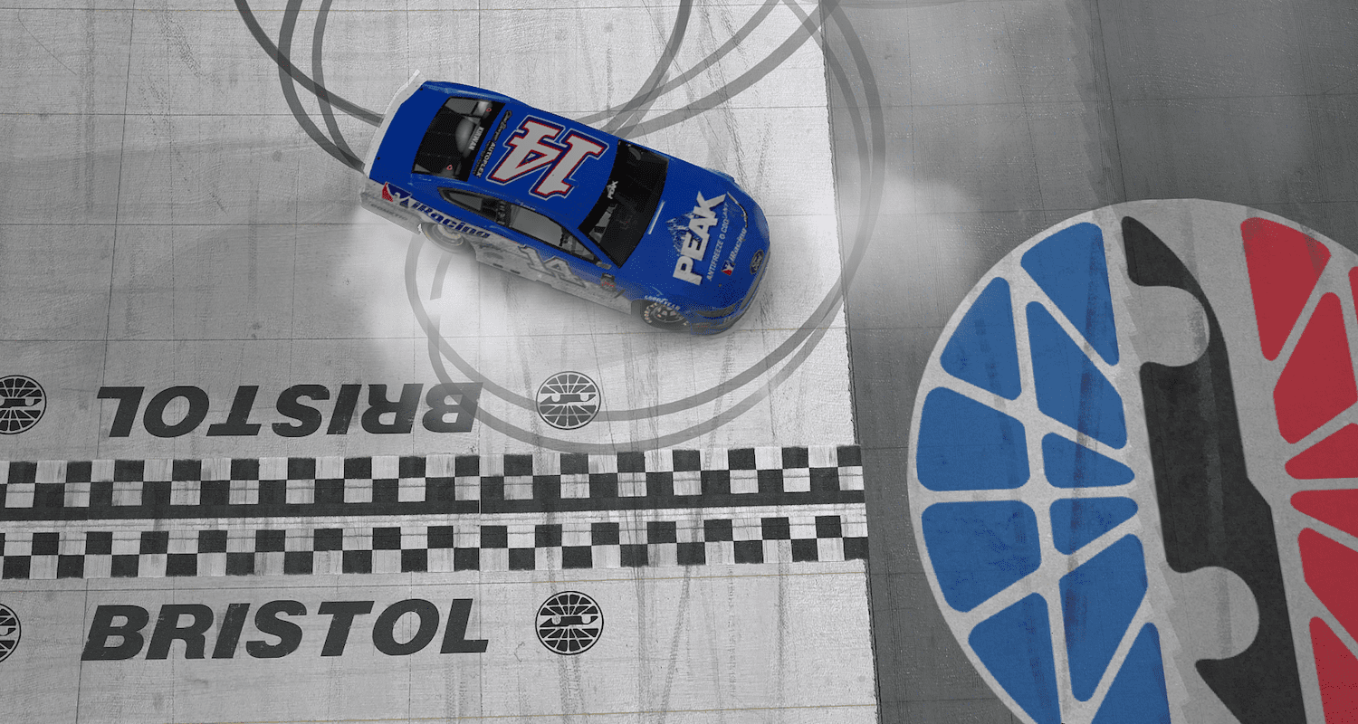 Casey Kirwan (14) became the second first-time eNASCAR PEAK Antifreeze iRacing Series winner in a row on Tuesday night at Bristol Motor Speedway.