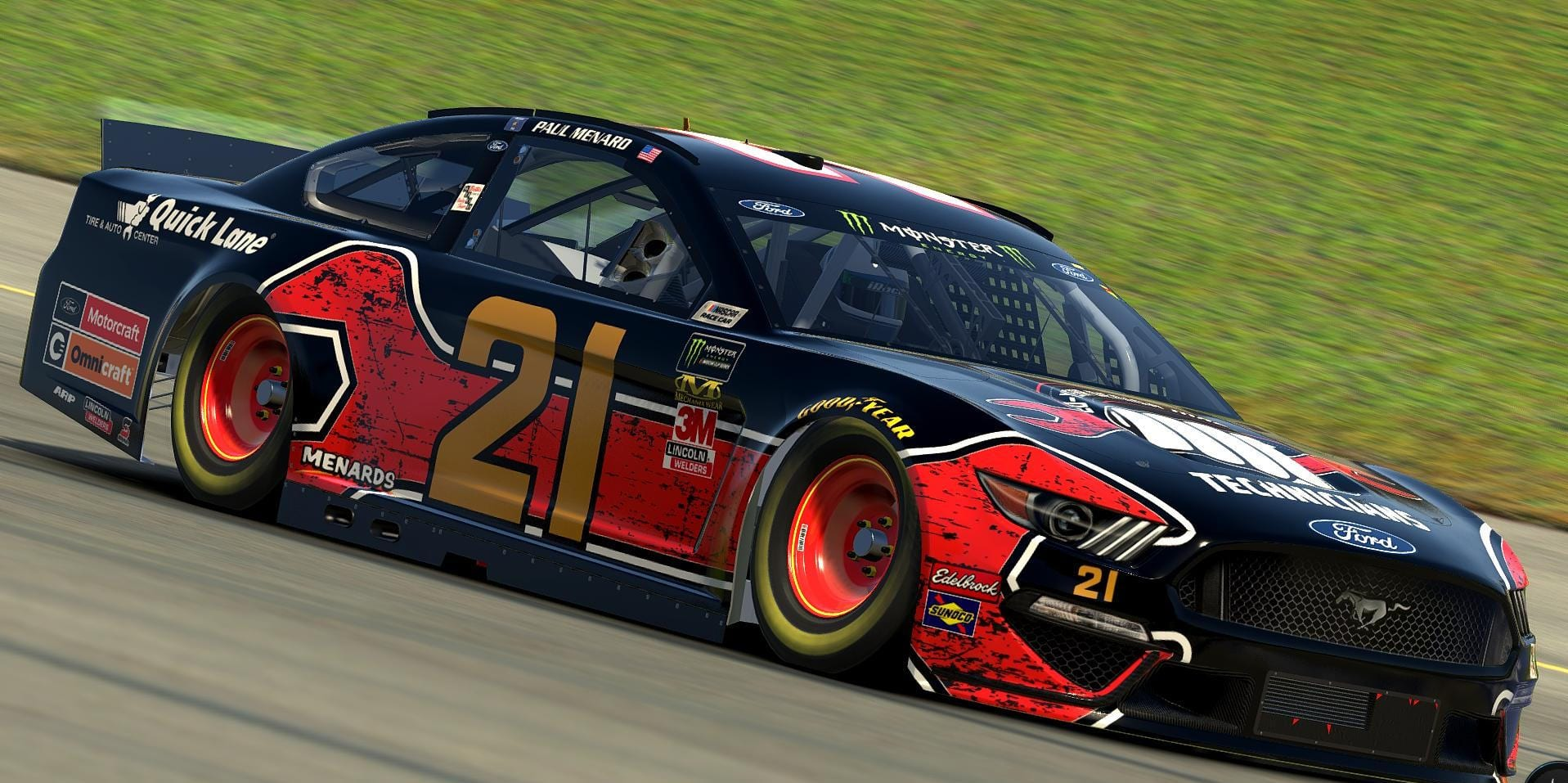Wood Brothers Paint Iracing