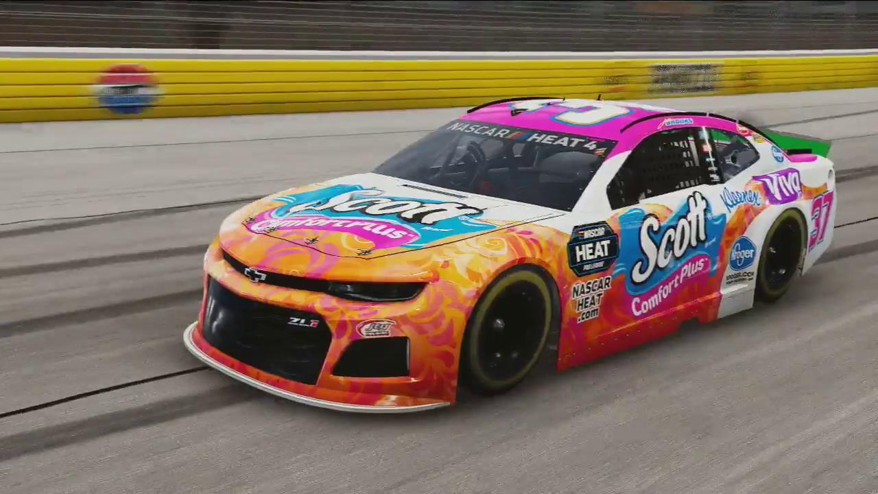 Justin Brooks (mrTRACKBAR33) won the Xbox race, but saw his team exit from Playoff contention.
