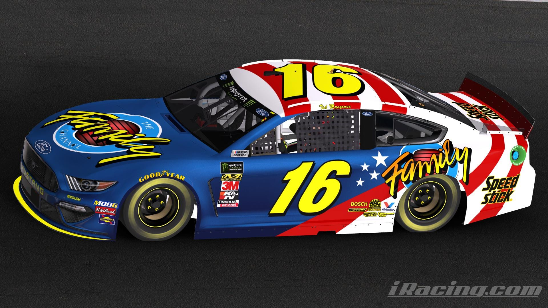 Ted Musgraves Paint Scheme 2019