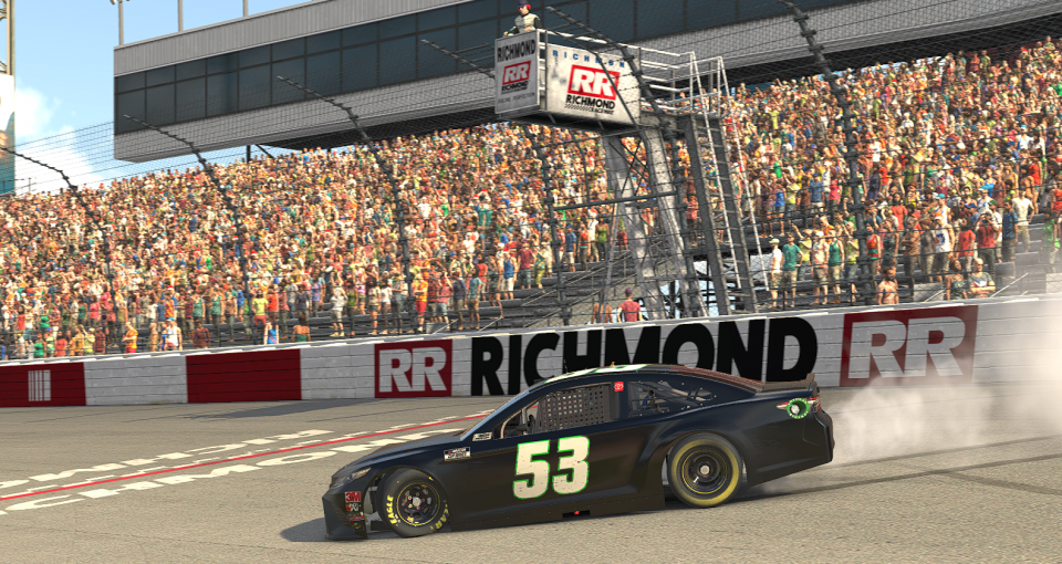 Luza Wins3 Richmond Enascar 2020