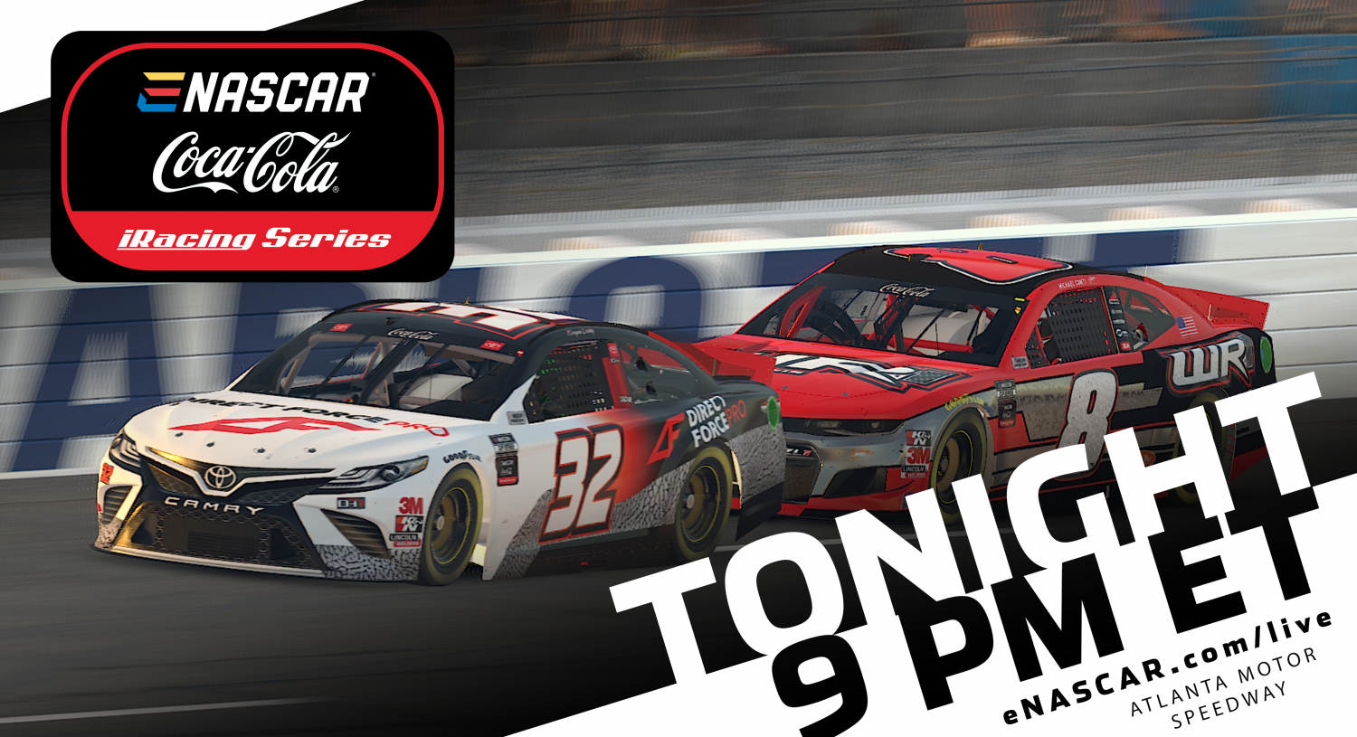 LIVE NOW: Coca-Cola iRacing Series from Atlanta