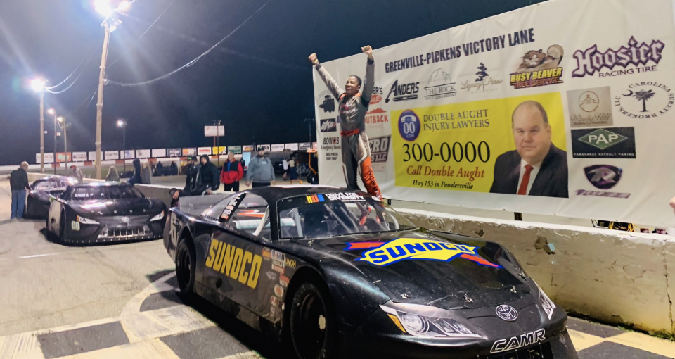 Caruth First Late Model Win 2020