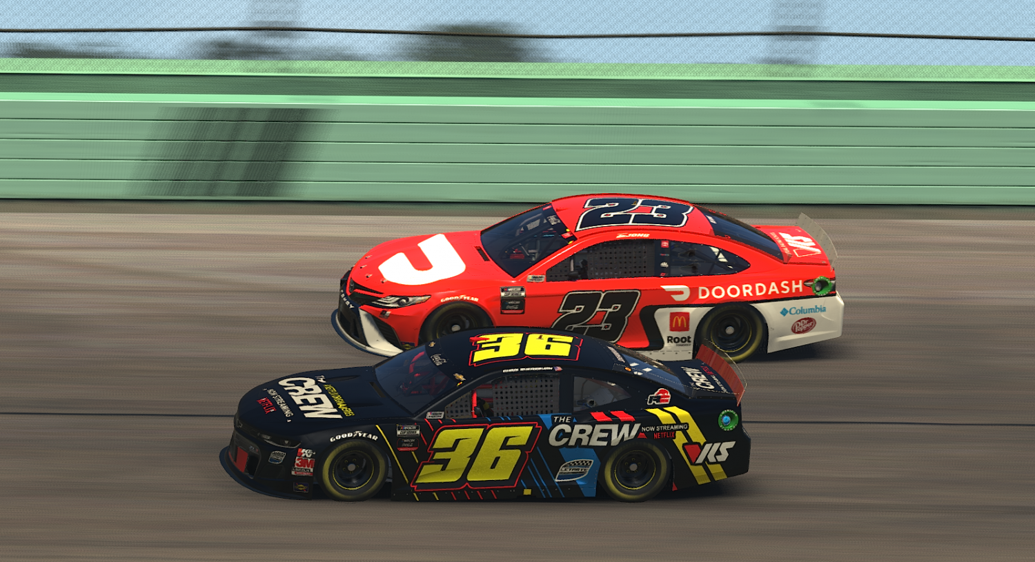 LIVE NOW: Coca-Cola iRacing Series from Kansas