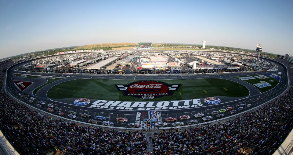 CHARLOTTE, NORTH CAROLINA - MAY 26: A general view of the Monster Energy NASCAR Cup Series Coca-Cola 600 at Charlotte Motor Speedway on May 26, 2019 in Charlotte, North Carolina. (Photo by Streeter Lecka/Getty Images)